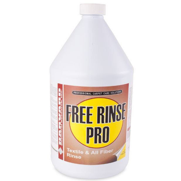 Harvard Chemical 220 Free Rinse Pro - Carpet Rinsing Agent 1 Gallon - TC220