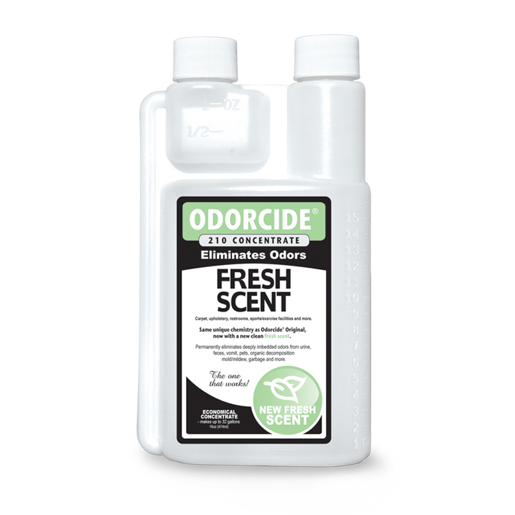 Odorcide 210 Fresh Scent Concentrate Master Case (2-12 packs of 16 oz. bottles)
