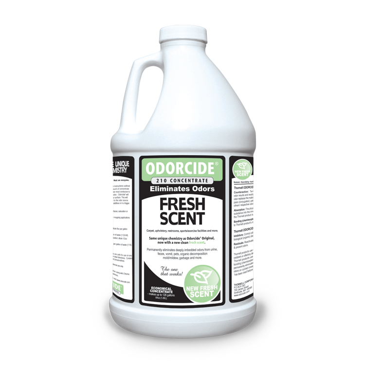 Odorcide 210 Fresh Scent Concentrate Master Case (6-64 oz. bottles)
