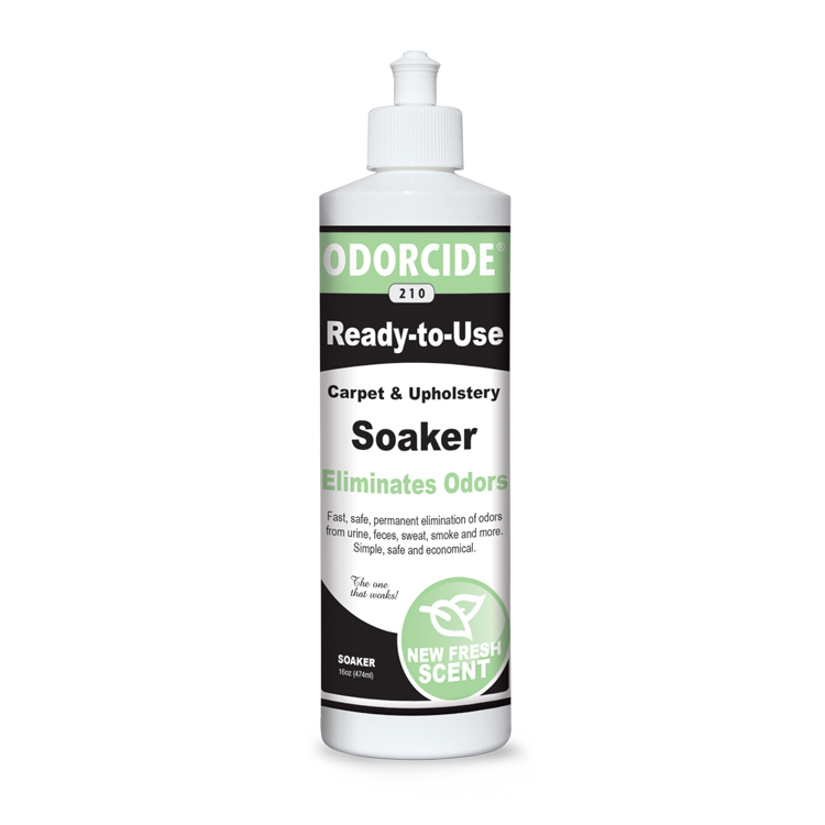 Odorcide 210 Fresh Scent Ready to Use Soaker Master Case (2-12 packs of 16 oz bottles)