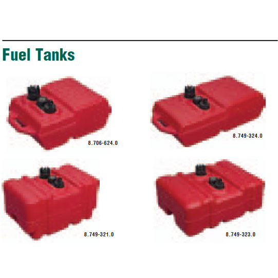Legacy Shark Fuel tanks Fuel Cells for Pressure washers, Carpet Cleaning Machines and Generators (list only)