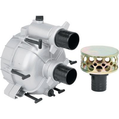 Full: Trash Water Pump ONLY  For Straight Keyed Shafts, 3in. Ports, 13,983 GPH-109291