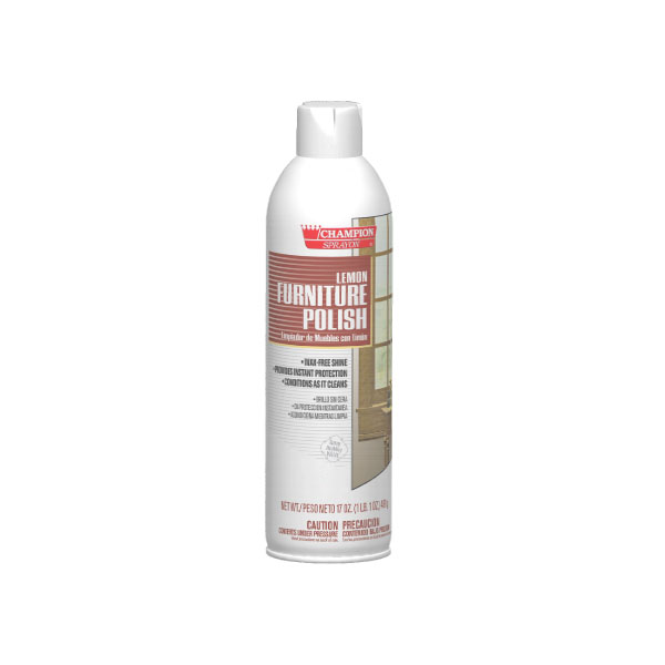 HCR CA5136 Furniture Polish case of 12/17 ounce Aerosol cans