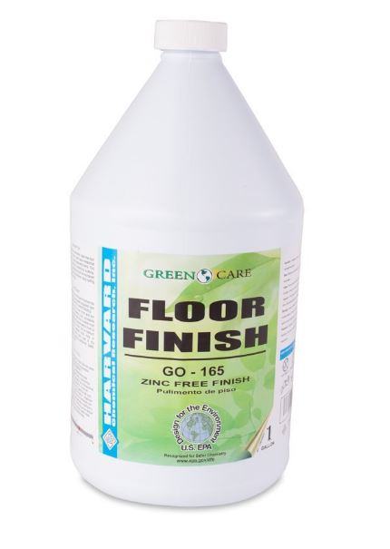 Harvard Chemical 600004 Floor Finish GF-165 Green Floor Finish Case 4- 1 Gallon Bottles