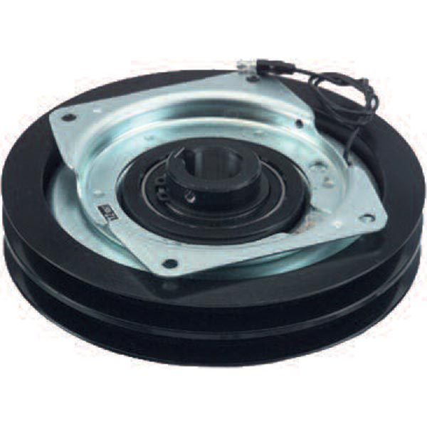 General Pump 100687 Pump 12 Volt Clutch Double Groove 47 Series W/ Mounting Plate 24mm 7in Diameter Ogura MAE-02A 160222