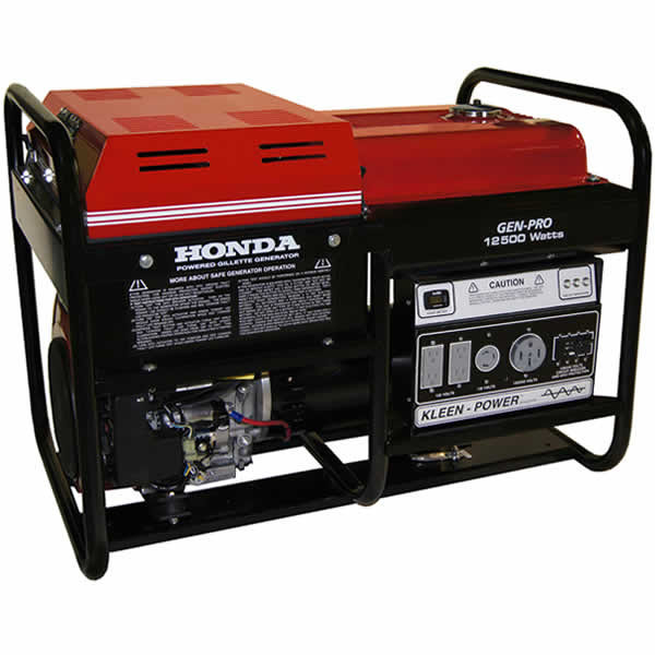 Gillette Generator GPE-125EH-1-1 Industrial Portable Generator 12500watts 120/240 volts electric start, single phase