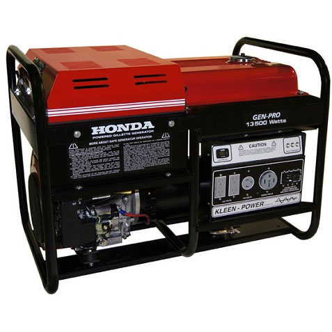 Gillette Generator GPE135EH Industrial Portable Generator 13500 watts 120volts electric start