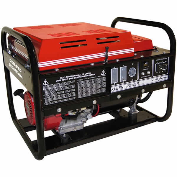 Gillette Generator GPE75EH-1-1 13hp Industrial Portable Generator 7500watts 120/240 dual voltage, electric start, single phase