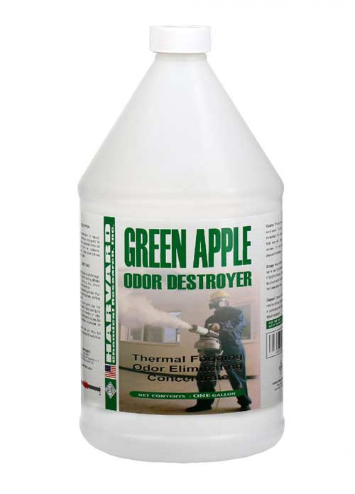 Harvard Chemical 744104 HV128C Green Apple Odor Destroyer Thermal Fogging Odor Eliminating Concentrate 4/1 gallon Case FREE Shipping