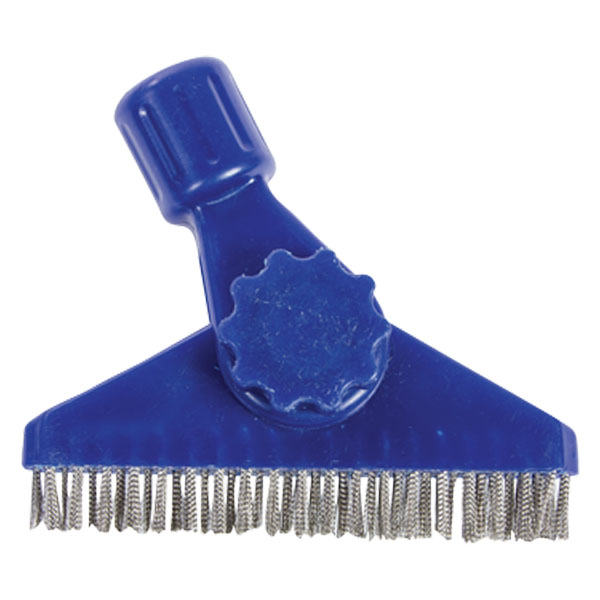 Hydroforce AB113 Stainless Steel Grout Brush for Tile Cleaning 5 Inches