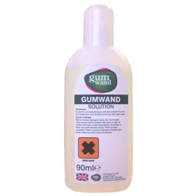 Gumwand Cleaning Solution Concentrate for Gum Reaper 8 oz. Bottle 20/Case - GW2