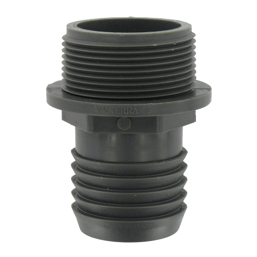 Clean Storm H229 Hose Connector 1-1/2in Barbed X 1-1/2in MIP W/flange 7180G K00665-1