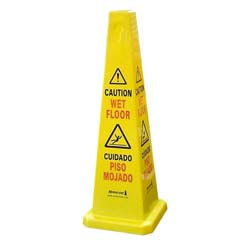 Hurricone Slip Prevention Caution Sign Safety Cone Wet Floor Sign SCWF436