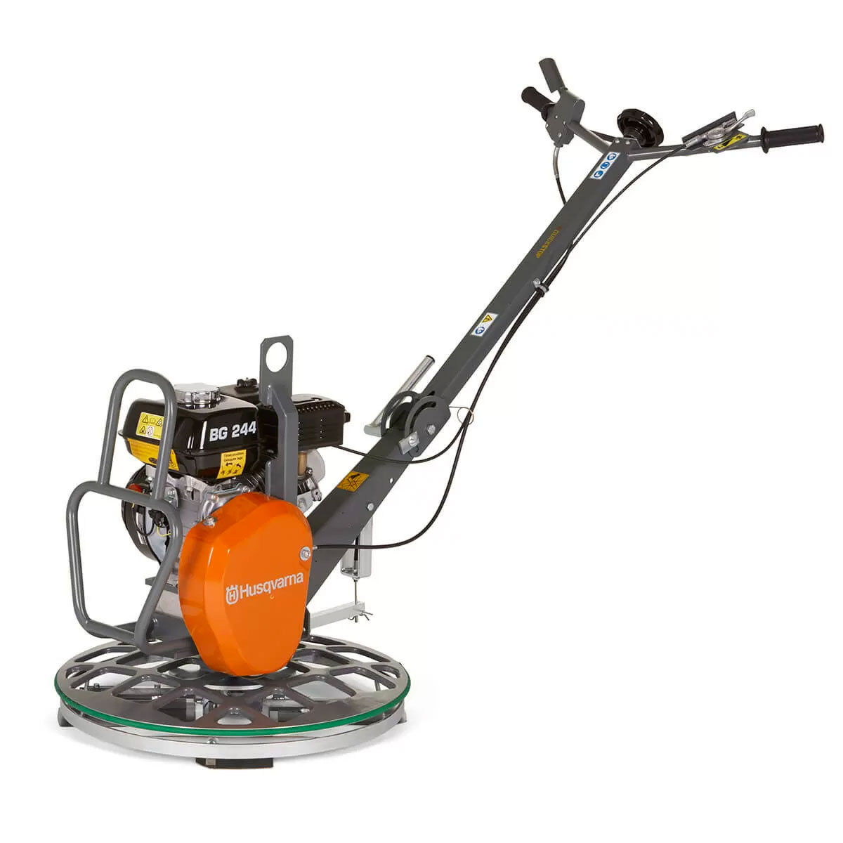 Demo Husqvarna BG244 Concrete Placement Power Trowel F TP 23.6Inch 600mm Honda GX120 Used BG 244 967859301A A Rated