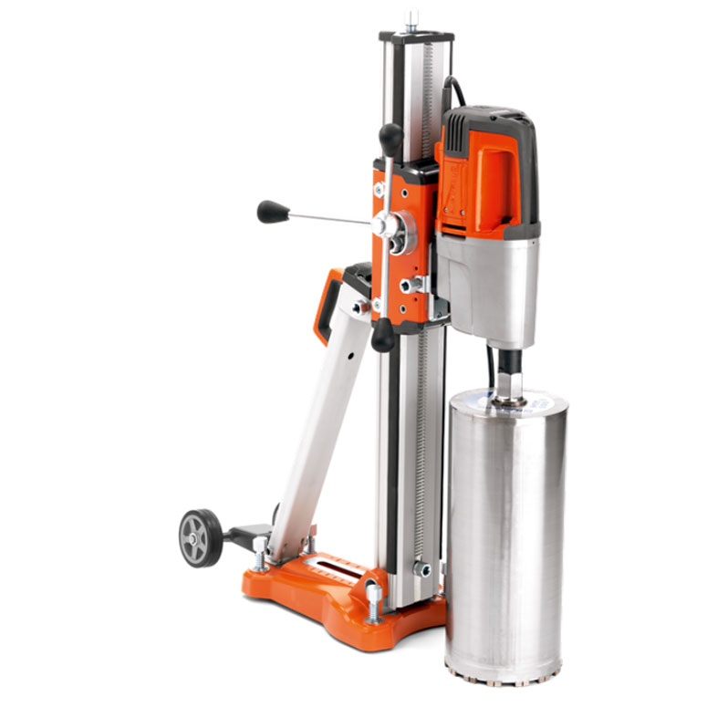 Husqvarna DMS340 Core Drill Motor Stand For 16 Inch Diameter DMS 340 Drilling Bit Not Included 967208601A  110 Volts