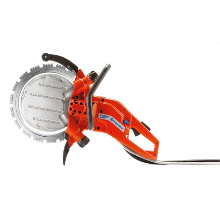 Demo Husqvarna K3600MK II Concrete Lightweight Power Cutter Ring Saw Used K 3600 MK 968424101B 14Inch Blade 10Inch Depth B Rated