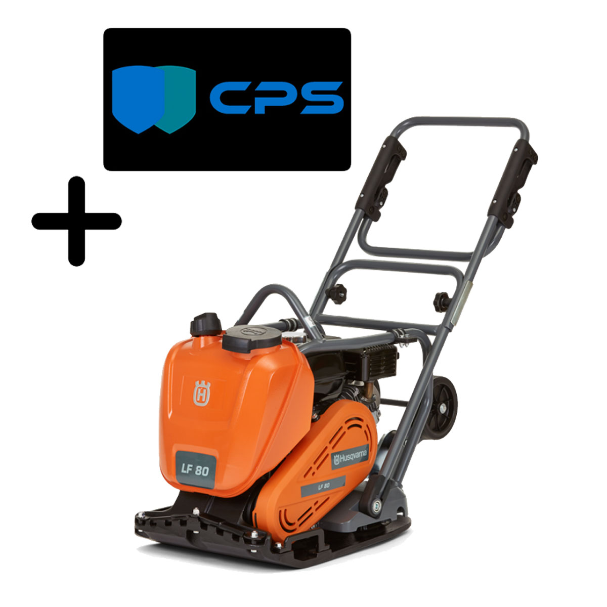 Husqvarna LF80 LAT Soil And Asphalt Compation Machine GX160 Honda 967855002 LF 80 LAT Compactors 3 Yr Warranty Freight Inc
