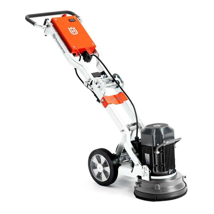 Demo Husqvarna PG 280 Concrete Floor Edge Grinder 3 HP 11 inches 230 Volts [967648706B] Used PG280 Edger HTC 280 1Yr Wrrnty