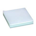 Hydro-Force: 4in x 4in Plastic Furniture Pads / Tabs Case Of 5,000