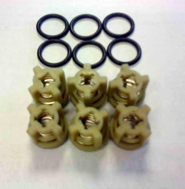 Hypro Pump Valve Kit 3430-0316 With O-rings Freight Included