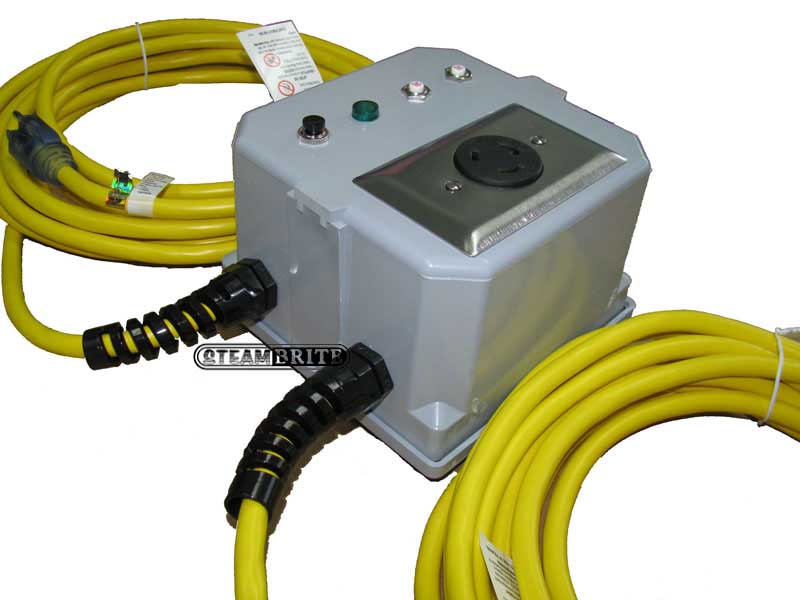 120 Volt Power Cable : Power joiner step up inverter converts dual amp