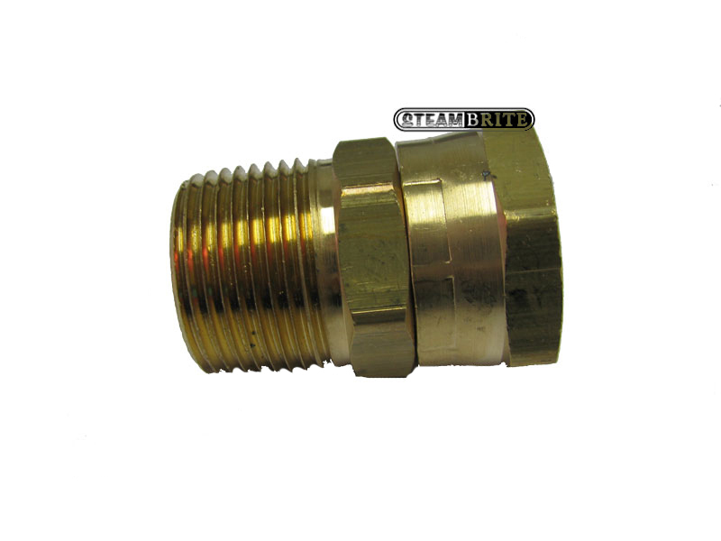 3/4in Mpt X Female Garden Hose Swivel Fitting Brass - 30182