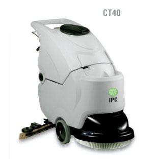"IPC Eagle: 20"" Automatic Scrubber With Traction Drive-With Pad driver And Or Brush-CT40BT50 Free three year warranty free shipping Steam Brite Exclusive"