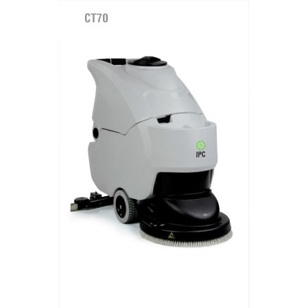 "IPC Eagle: 20"", 20 Gallon, Brush Drive Automatic Scrubber-With Pad Driver Or Brushes-CT70B50 Free three year warranty and free shipping Steam Brite Exclusive"