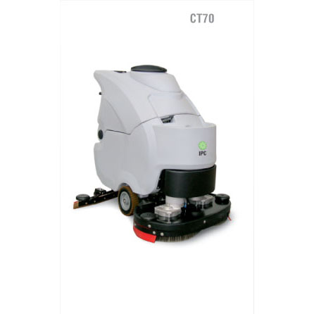 "IPC Eagle CT70BT60 Traction Drive 24"", 20 Gallon Automatic Scrubber with Batteries and Charger Free three year warranty and free shipping Steam Brite Exclusive"