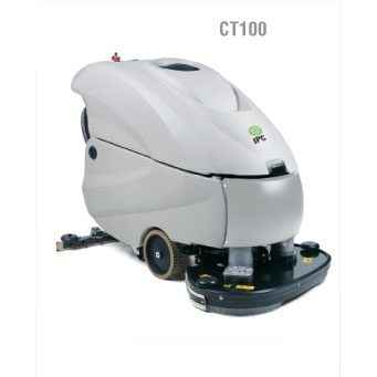 IPC Eagle CT100BT70: 28in 26 Gallon, Traction Drive Automatic Scrubber with Pad Drivers Or Brushes FREE Shipping