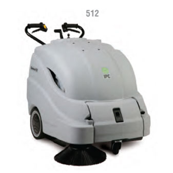 IPC Eagle 28 inch Battery Sweeper With On Board  Charger-512ET Free Shipping