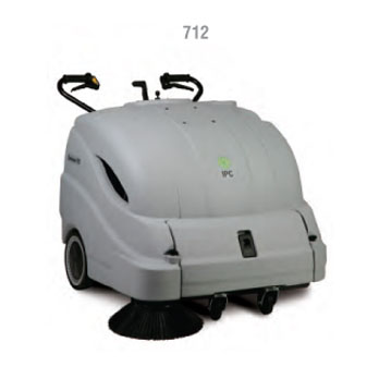 "IPC Eagle: 36"" Battery Sweeper With On Board Charger-712ET Free Three year warranty Free Shipping Steam Brite Exclusive"