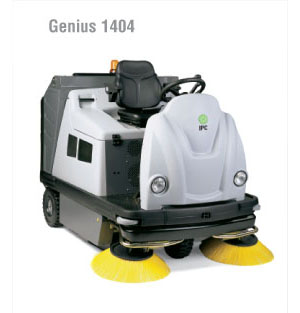 "IPC Eagle: Genius-58"" Rider Sweeper (Battery)-TK1404E Free Three Year Warranty Free Shipping Steam Brite Exclusive"