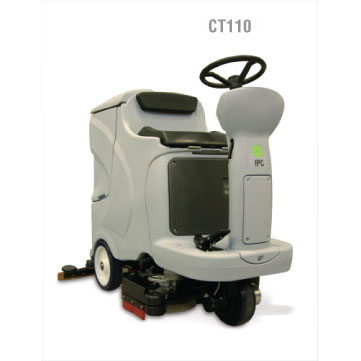 IPC Eagle CT110BT70 Clean time Rider 28in 30 Gallon Ride On Automatic Scrubber Ride On FREE Shipping