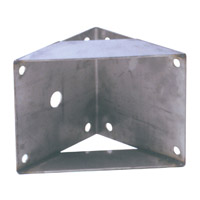 J.E. Adams: Wall Bracket---For use only with JE Adams boom Item #6083