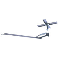 J.E. Adams 6050 360 Degree Ceiling Mount Boom Only