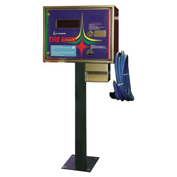 JE ADAMS INDUSTRIES: Tire Shine Station - Bill Acceptor