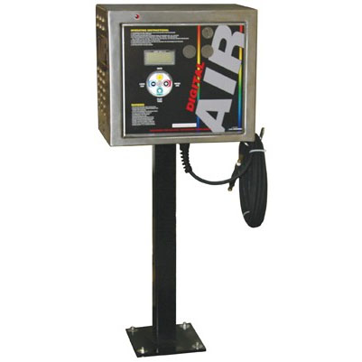 J.E. Adams: Digital Air Machine - Retractable Hose Reel - Gast Compressor