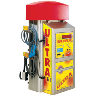 J.E. ADAMS: Ultra Series 6-in-1 Unit - Turbo Vac, Shampoo & Spot Remover, Fragrance & Air Machine - No Bill Acceptor - Vault Ready-Combination Unit