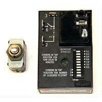 J.E. Adams 9225PBK Push Button Kit with Timer for JE Adams Commercial Vacuums