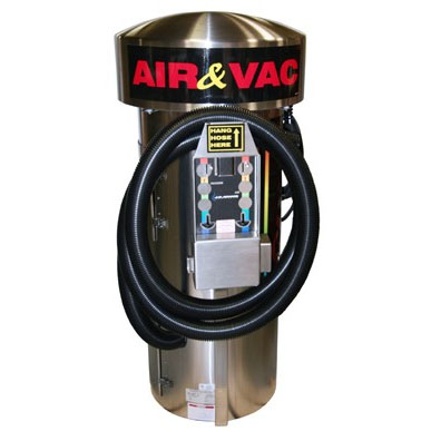JE ADAMS 9420-1G Vacuum & Air Machine GAST Compressor with Coin Acceptors