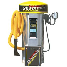 J.E. ADAMS: Vacuum & Shampoo/Spot Remover - 2 Motor - Without Bill Acceptor-Combination Unit