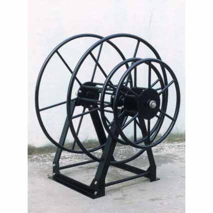Ashburn Truckmount Live Vacuum Double hose reels 200 ft with side mount 200 ft solution or garden hose reel JP2200  JP-2-200