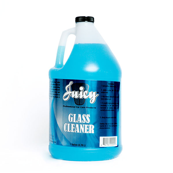 juicy car wash glass cleaner gallon gc gal auto detailing chemicals by juicy car wash a. Black Bedroom Furniture Sets. Home Design Ideas