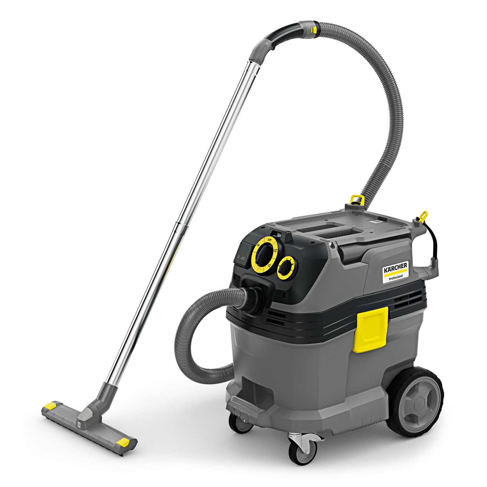 Karcher NT 30/1 Tact Te HEPA with power outlet (automatic on/off switch) and Tact filter cleaning 1.148-216.0 Shop Vacuum Freight Included