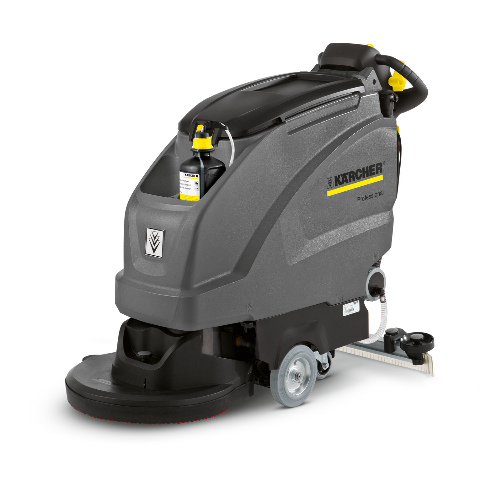Karcher B 40 C Bp Traction Drive Auto Scrubber 24v 138 Ah AGM Batteries D51 Disk Scrub Deck 9.841-375.0 Freight Included
