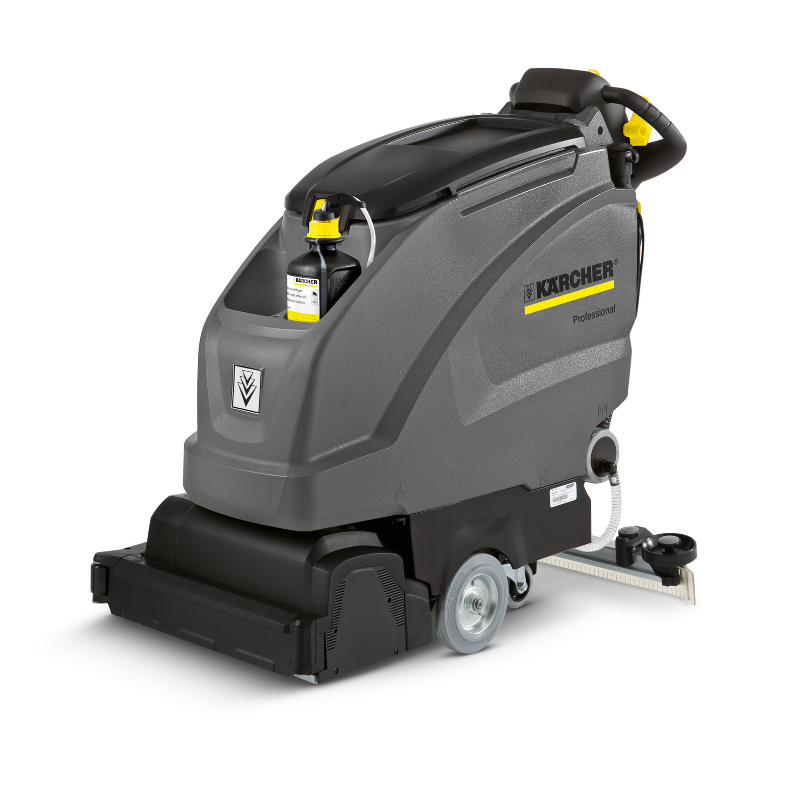 Karcher B 40 C Bp Traction Drive Auto Scrubber 24v 138 Ah AGM Batteries R55 Cylindrical Scrub Deck 9.841-374.1 Freight Included