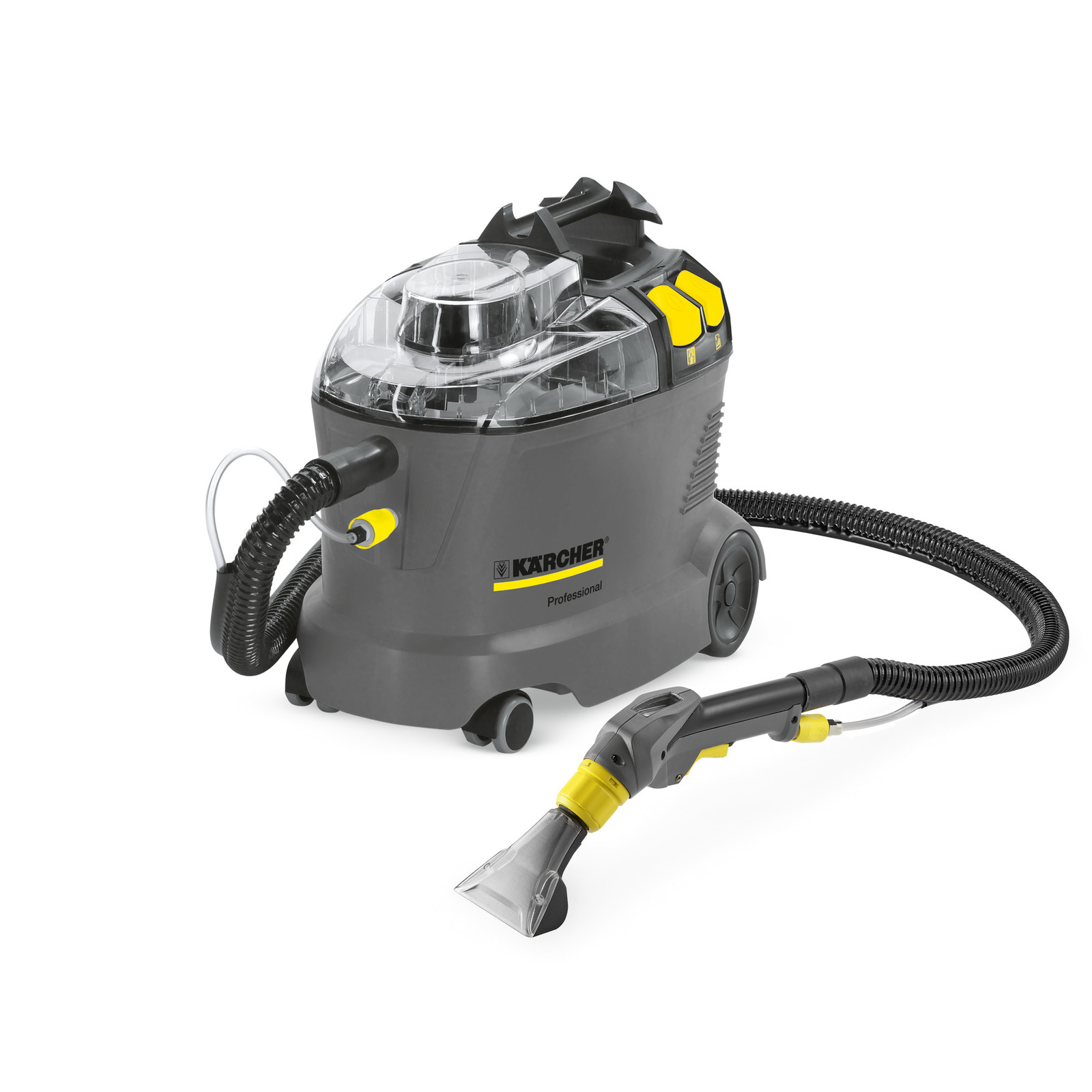 Karcher Puzzi 8/1 C Commercial Carpet Spot Extractor 1.100-228.0 Compact 20 lbs with Hand Tool Half Price Shipping 120 volts