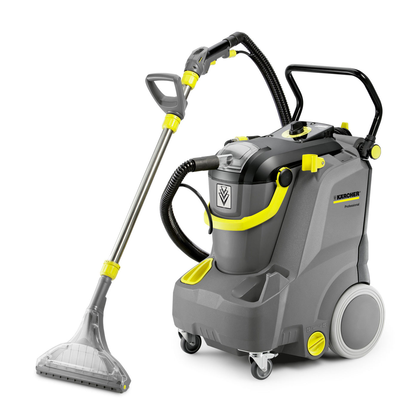 Karcher 1.101-126.0 Puzzi 30/3 Quiet Low Noise Carpet Cleaning Machine with Hose Set and Wand 8 Gal Freight Included