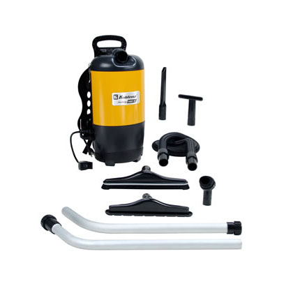 Koblenz: Low noise operation, only 71 DB-BackPack Vacuum Cleaner-1400Watts-120CFM